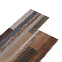 vidaXL PVC talne plošče 5,26 m² 2 mm večbarvne