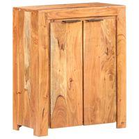 vidaXL Komoda 59x33x75 cm trden akacijev les