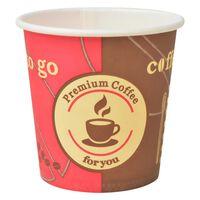 vidaXL 1000 kosov kavnih lončkov za enkratno uporabo 120 ml (4 oz)