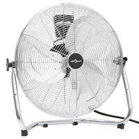 vidaXL Talni ventilator 3 hitrosti 60 cm 120 W krom