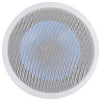 vidaXL Vgradni stenski in stropni zvočnik z visokotoncem 180 W
