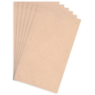 vidaXL Plošče za plakate 10 kosov DIN velikost A1 HDF 860x620x3 mm