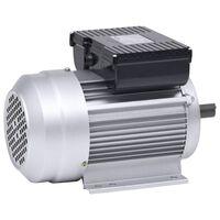 vidaXL Enofazni elektromotor aluminijast 1,5kW/2 kM 2800 vrt/min