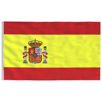 vidaXL Španska zastava 90x150 cm
