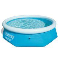 Bestway Fast Set napihljiv bazen okrogel 244x66 cm 57265