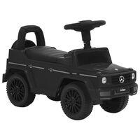 vidaXL Otroški poganjalec avto Mercedes-Benz G63 črn