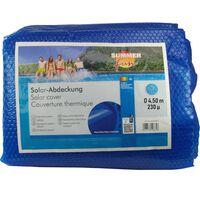 Summer Fun Solarno pokrivalo za bazen okroglo 450 cm PE modro