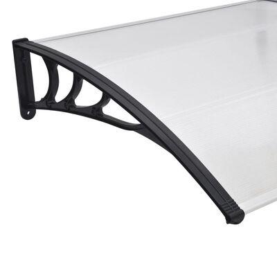vidaXL Nadstrešek za vrata 150x100 cm PC