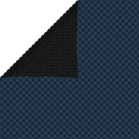 vidaXL Plavajoča PE solarna folija za bazen 600x400 cm črna in modra