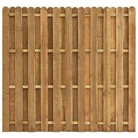 vidaXL Ograjni panel borovina 180x170 cm