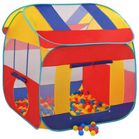 vidaXL Igralni šotor s 300 žogicami XXL