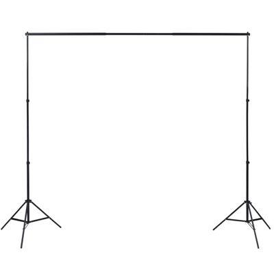 vidaXL Komplet za fotografski studio: 5 barvnih ozadij in 2 softboxa