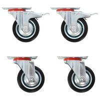 vidaXL Gibljiva kolesa 16 kosov 75 mm