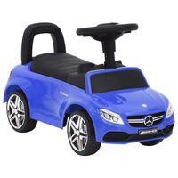 vidaXL Otroški poganjalec avto Mercedes-Benz C63 moder