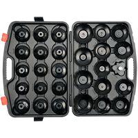 YATO Komplet skodelastih ključev za oljne filtre 30 kosov