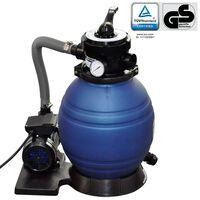 vidaXL Črpalka s peščenim filtrom 400 W 11000 l/h
