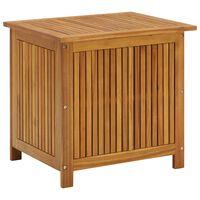 vidaXL Vrtna škatla za shranjevanje 60x50x106 cm trden akacijev les
