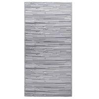 vidaXL Zunanja preproga siva 120x180 cm PP