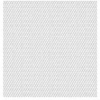 vidaXL Vrtna žična ograja nerjaveče jeklo 100x85 cm 45x20x4 mm