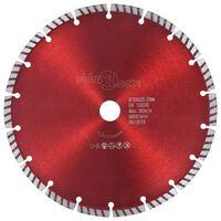 vidaXL Diamantni rezalni disk s turbo jeklom 230 mm