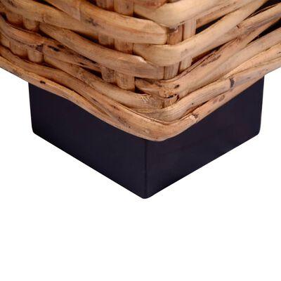 vidaXL 15-delna sedežna garnitura iz naravnega ratana