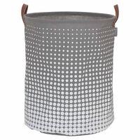 Sealskin Košara za perilo Speckles 60 L siva 361892012