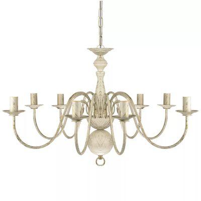 Antični Bel Kovinski Lestenec 8 x E14 Žarnica