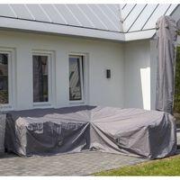 Madison Pokrivalo za zunanje pohištvo 270x270x70 cm sivo