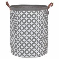 Sealskin Košara za perilo Diamonds 60 L siva