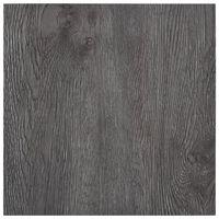 vidaXL Samolepilne talne plošče 5,11 m² PVC rjave