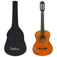 """vidaXL Klasična kitara za otroke 8-delni začetniški komplet 1/2 34"""""""