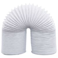 vidaXL Izpušna cev PVC 6 m 10 cm