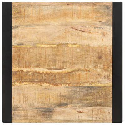 vidaXL Jedilna miza 60x60x75 cm trden robusten mangov les