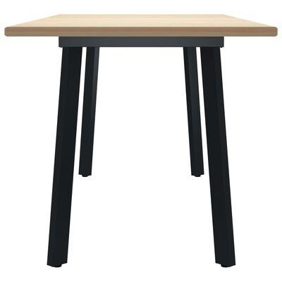 vidaXL Jedilna miza 180x90x76 cm borovina