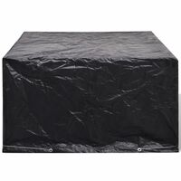 vidaXL Pokrivalo za vrtno pohištvo z 8 obročki 172x113x73 cm