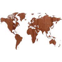 MiMi Innovations Lesen zemljevid sveta Exclusive sapelovina 130x78 cm