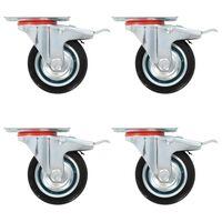 vidaXL Gibljiva kolesa 32 kosov 75 mm