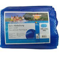 Summer Fun Solarno pokrivalo za bazen ovalno 800x420 cm PE modro