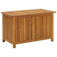 vidaXL Vrtna škatla za shranjevanje 90x50x58 cm trden akacijev les