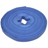 vidaXL Ploščata požarna cev PVC 50 m 1 inč / 2,5 cm