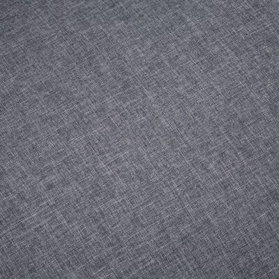 vidaXL Kavč trosed blago temno sive barve