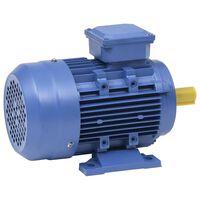 vidaXL Trifazni elektromotor aluminijast 1,5 kW/2KM 2840 vrt/min