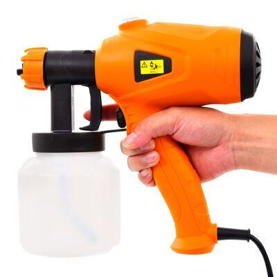 vidaXL Električna pištola za barvanje 350 W 800 ml