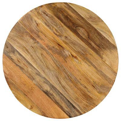 vidaXL Barska miza iz trdnega mangovega lesa 75x(76-110) cm