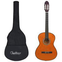 """vidaXL Klasična kitara za začetnike 12-delni komplet 4/4 39"""""""