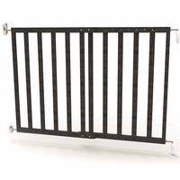 Noma Raztegljiva varnostna vrata 63,5-106 cm les sive barve 94146