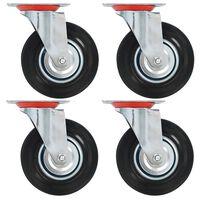 vidaXL Gibljiva kolesa 8 kosov 125 mm