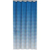 Sealskin Zavesa za tuš Speckles 180 cm živo modra