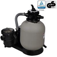 vidaXL Črpalka s peščenim filtrom 600 W 17000 l/h