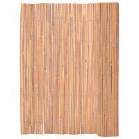 vidaXL Ograja iz bambusa 125x400 cm